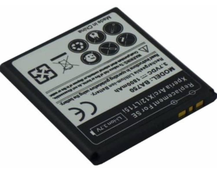 Bateria BA750 BA-750 Sony / Sony Ericsson Xperia Arc S X12 LT15i LT18I