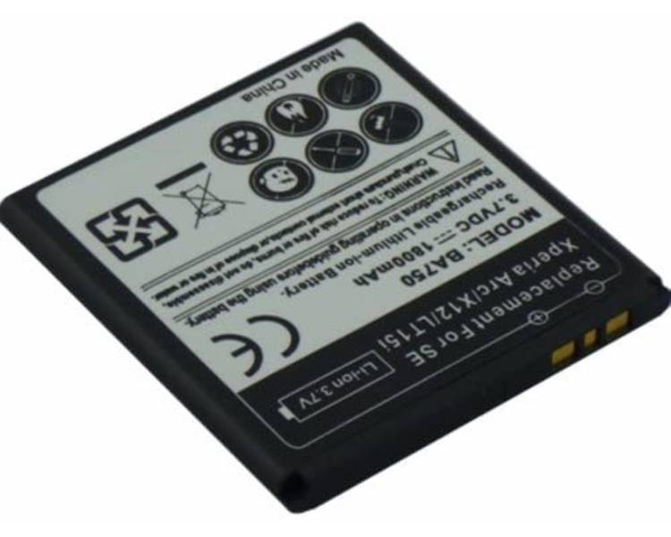 Battery For Sony Xperia Arc X12 , Part Number: BA750  - 1