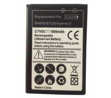 Batterij BA750 BA-750 Sony / Sony Ericsson Xperia Arc S X12 LT15i LT18I  - 1