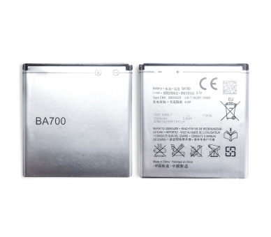 Battery For Sony Xperia Neo V , Part Number: BA700  - 1
