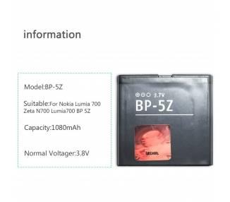 Bateria Original para Nokia BP-5Z BP5Z BP 5Z N700 Zeta  - 1