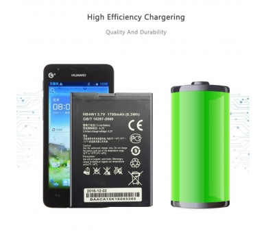 Originele batterij HUAWEI HB4W1 G510 ORANJE DAYTONA G520 C8813 G525 T8951D Y210  - 1