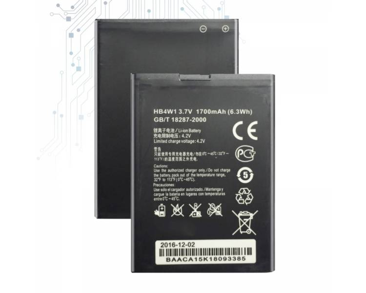 Oryginalna bateria HUAWEI HB4W1 G510 ORANGE DAYTONA G520 C8813 G525 T8951D Y210