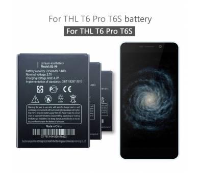 Originele accu voor THL T6S / T6 / PRO / T6C BL-06  - 1