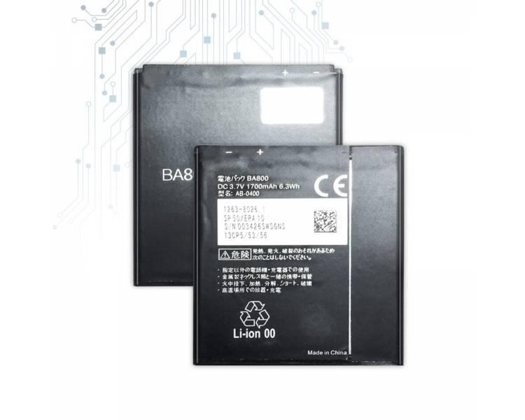 Oryginalna bateria BA800 BA 800 do Sony Xperia S LT26i ARC HD V LT25i ARC S 1700