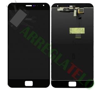 Pantalla Tactil Digitalizador Digitizer Nokia Lumia 530 Negra Negro Con Adhesivo ARREGLATELO - 2