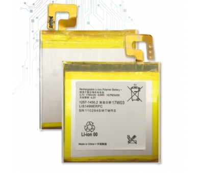 Battery For Sony Xperia T , Part Number: LIS1499ERPC  - 1