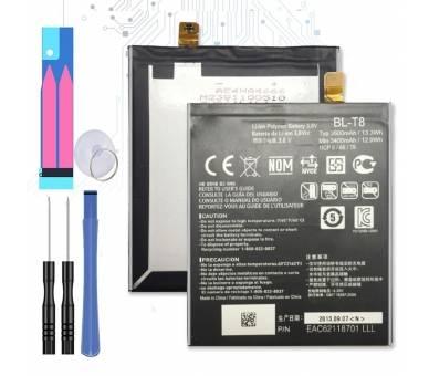 Originele LG BL-T8 Batterij voor LG OPTIMUS G FLEX D955 D958 D959 D950 LS995  - 1