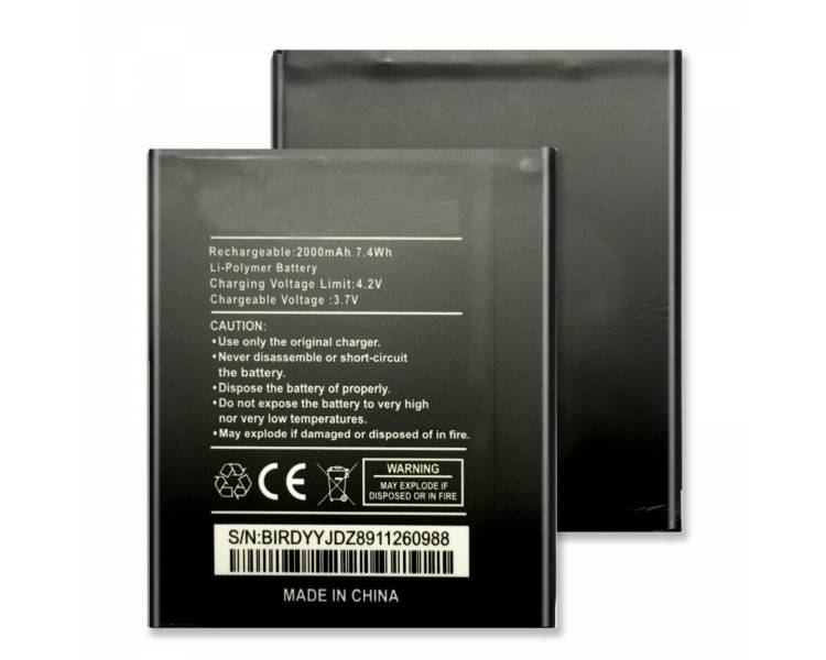 Battery For Wiko DarkNight , Part Number: WIKODN  - 1
