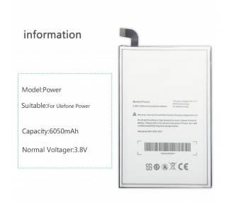 Bateria para Ulefone Power - Capacidad Original  - 1