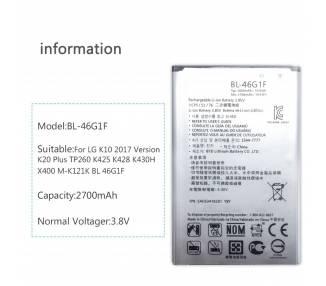 Oryginalna bateria LG BL-46G1F do telefonu LG K10 (2017) M250 - 2