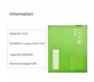 Bateria para LEAGOO M8 - M8 Pro (BT-572P)  - 1