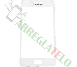 Touch Digitizer Vetro Cristal per Samsung Galaxy S2 SII i9100 Bianco ULTRA+ - 1