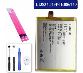 Bateria Original para UMI Emax / UMI Hierro LI3834T43P6H886740  - 1