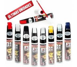 Lapiz Rotulador Repara Arañazos Pintura Coche Auto Repair Paint Pen pincel fix  - 1