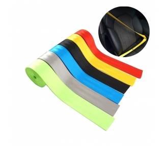 Cinturón de seguridad para coche en rollo de 10 metros x 4,8cm 5 colores ARREGLATELO - 1