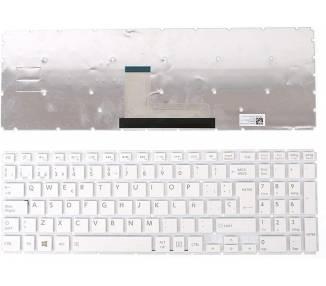 Teclado Español para Toshiba Satellite L50-B L55-C C55-C NSK-V93SQ Blanco ARREGLATELO - 2