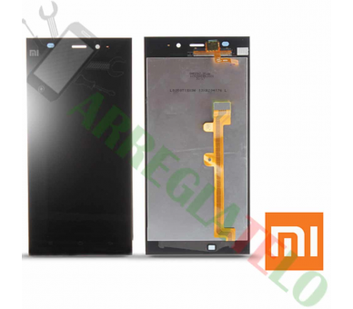 Display For Xiaomi Mi 3 | Color Black | Xiaomi - 2