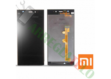 Pantalla Completa Display Lcd + Tactil Negro Negra para Xiaomi 3 M3 MI3 Xiaomi - 2