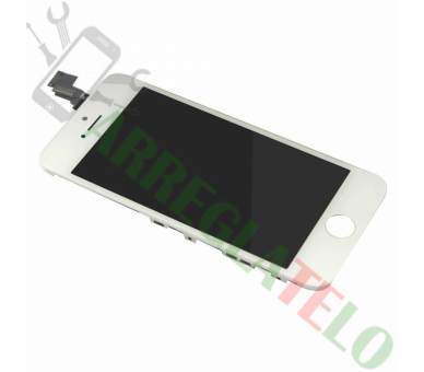 Pantalla Completa Retina con Marco para Apple iPhone 5C Blanco Blanca ULTRA+ - 2