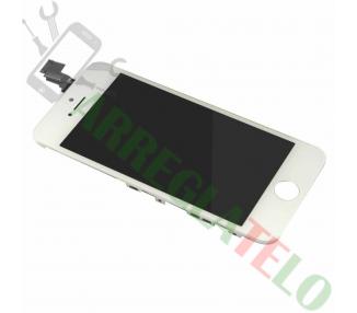 PANTALLA COMPLETA DISPLAY LCD RETINA PARA APPLE 5C COLOR BLANCO BLANCA CON MARCO ARREGLATELO - 2