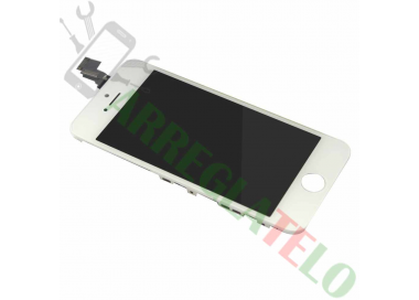 Pantalla Completa Retina con Marco para iPhone 5C Blanco Blanca ARREGLATELO - 2