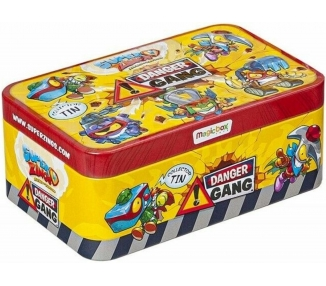 Caja Lata Superzings Serie 4 Magic Box Danger Gang ARREGLATELO - 1
