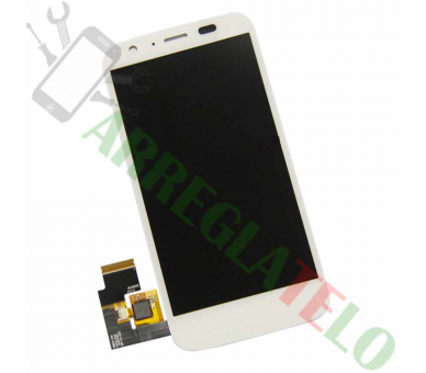 Display For Motorola Moto G | Color White | ULTRA+ - 2