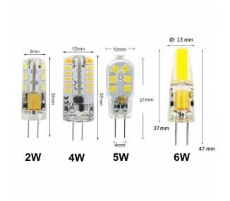 G4 G9 Bombilla LED 3W 6W 7W 8W 9W 10W 12V,220V Regulable 2835 3014 COB Lámpara ARREGLATELO - 1
