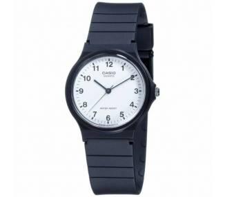 Reloj Casio MQ-24-7BLL Analogico Negro Retro Clasico Redondo Original ARREGLATELO - 1