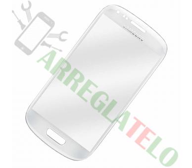 Bildschrim Touchscreen Glass für Samsung Galaxy S3 Mini i8190 Weiß ULTRA+ - 1