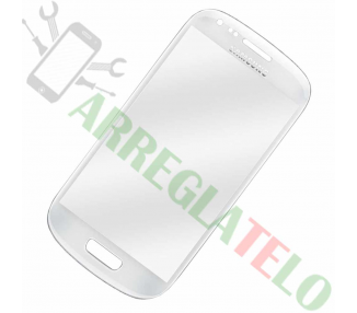 Touch Digitizer Vetro Cristal per Samsung Galaxy S3 Mini i8190 Bianco ULTRA+ - 1