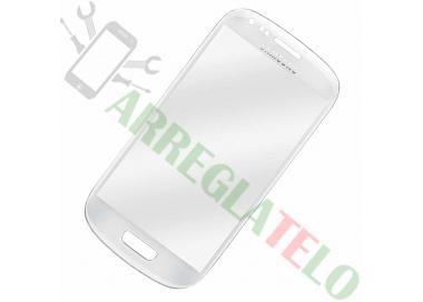Pantalla Tactil Cristal para Samsung Galaxy S3 Mini i8190 Blanco Blanca ULTRA+ - 1