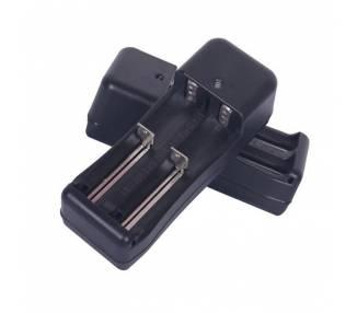 Cargador para bateria, baterias 18650 con dos slots de carga 4.2v ARREGLATELO - 2