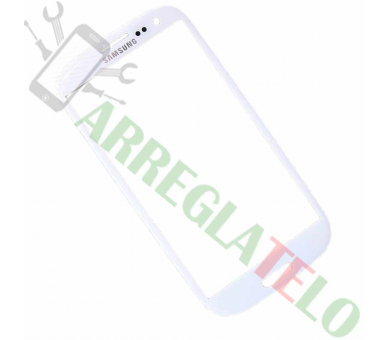 Cristal glass for Samsung Galaxy S3 i9300 White ULTRA+ - 1