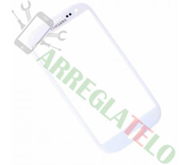 Pantalla de Cristal para Samsung Galaxy S3 i9300 Blanco Blanca ULTRA+ - 1