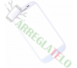 Pantalla de Cristal for Samsung Galaxy S3 i9300 Bianco ULTRA+ - 1