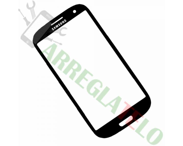 Bildschrim Touchscreen Glass für Samsung Galaxy S3 i9300 Schwarz Schwarz + Adhesivo ARREGLATELO - 1