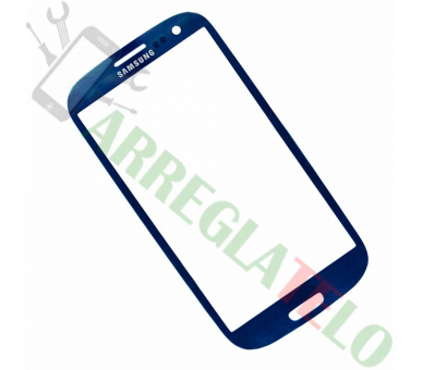 Cristal glass for Samsung Galaxy S3 i9300 Blue ULTRA+ - 1