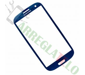 Touch Digitizer Vetro Cristal per Samsung Galaxy S3 i9300 Blu ULTRA+ - 1