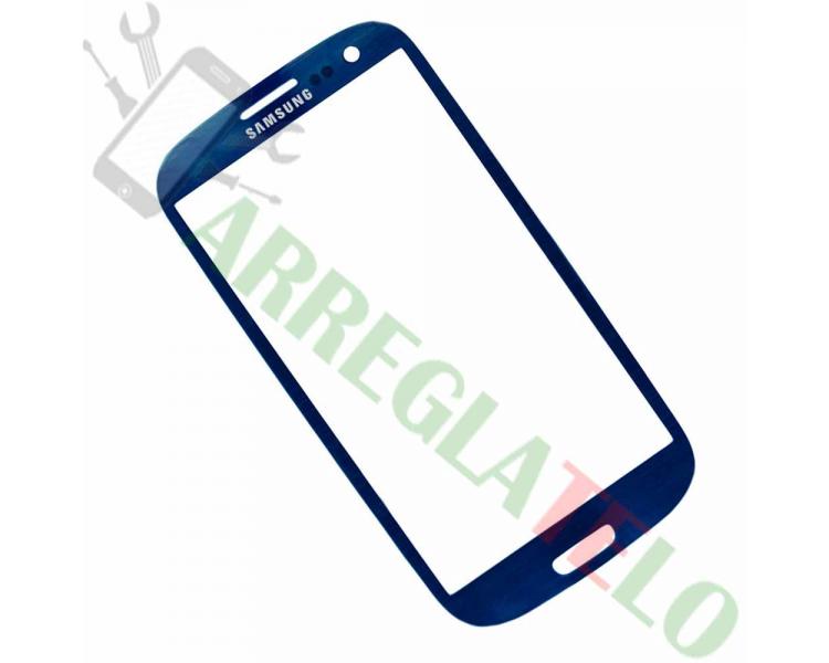Pantalla Tactil Cristal para Samsung Galaxy S3 i9300 Azul ULTRA+ - 1
