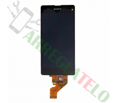 Pantalla Completa para Sony Xperia Z1 Compact Mini D5503 Negro Negra ARREGLATELO - 2