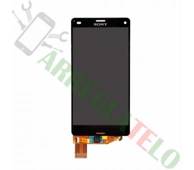 Vollbild für Sony Xperia Z3 Compact Mini D5803 D5833 Schwarz Schwarz ARREGLATELO - 2
