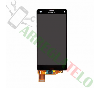 Display For Sony Xperia Z3 Compact, Color Black