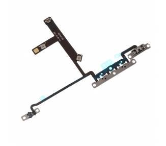Flex Boton Volumen Volume Cable iPhone XS con Soporte Metalico ARREGLATELO - 1