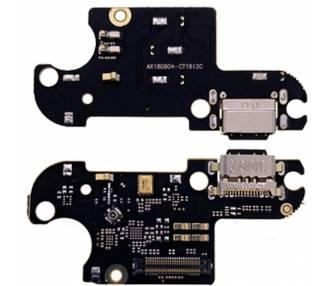 Placa Conector Carga Xiaomi Mi 8 Lite Puerto USB C Microfono Antena Modulo ARREGLATELO - 1