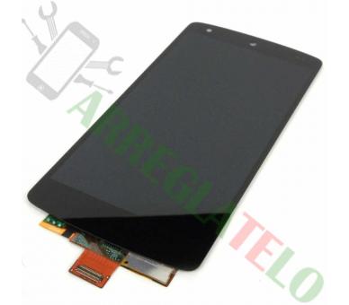 Schermo intero per LG Nexus 5 D820 D821 Nero Nero ARREGLATELO - 2