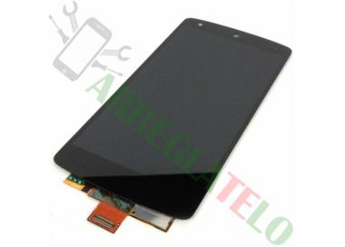 Pantalla Completa para LG Nexus 5 D820 D821 Negro Negra ARREGLATELO - 2