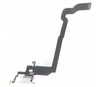 Flex Conector de Carga y Microfono para iPhone X 10 Blanco ARREGLATELO - 1