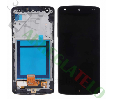 Display For LG Nexus 5 | Color Black | With Frame | ULTRA+ - 2